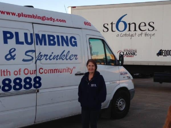 Kathyn Smith, The Plumbing Lady in Bedford TX