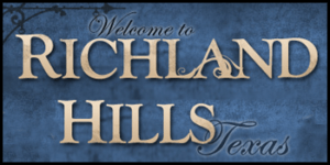 Welcome to Richland Hills Texas Sign