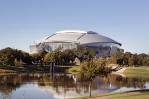 AT&T Stadium in Arlington, Tx, Home of the Dallas Cowboys
