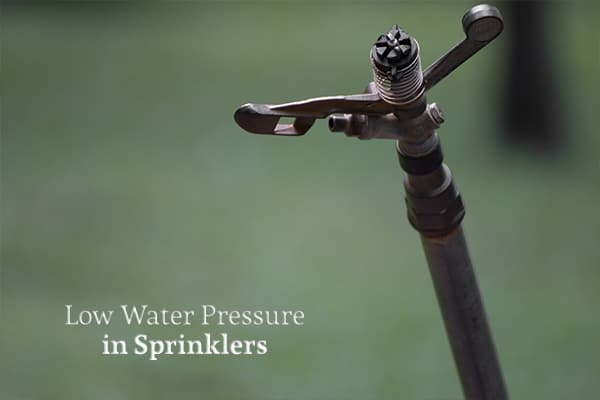 Why Do My Sprinklers Have Low Water Pressure? | HEB Plumbing